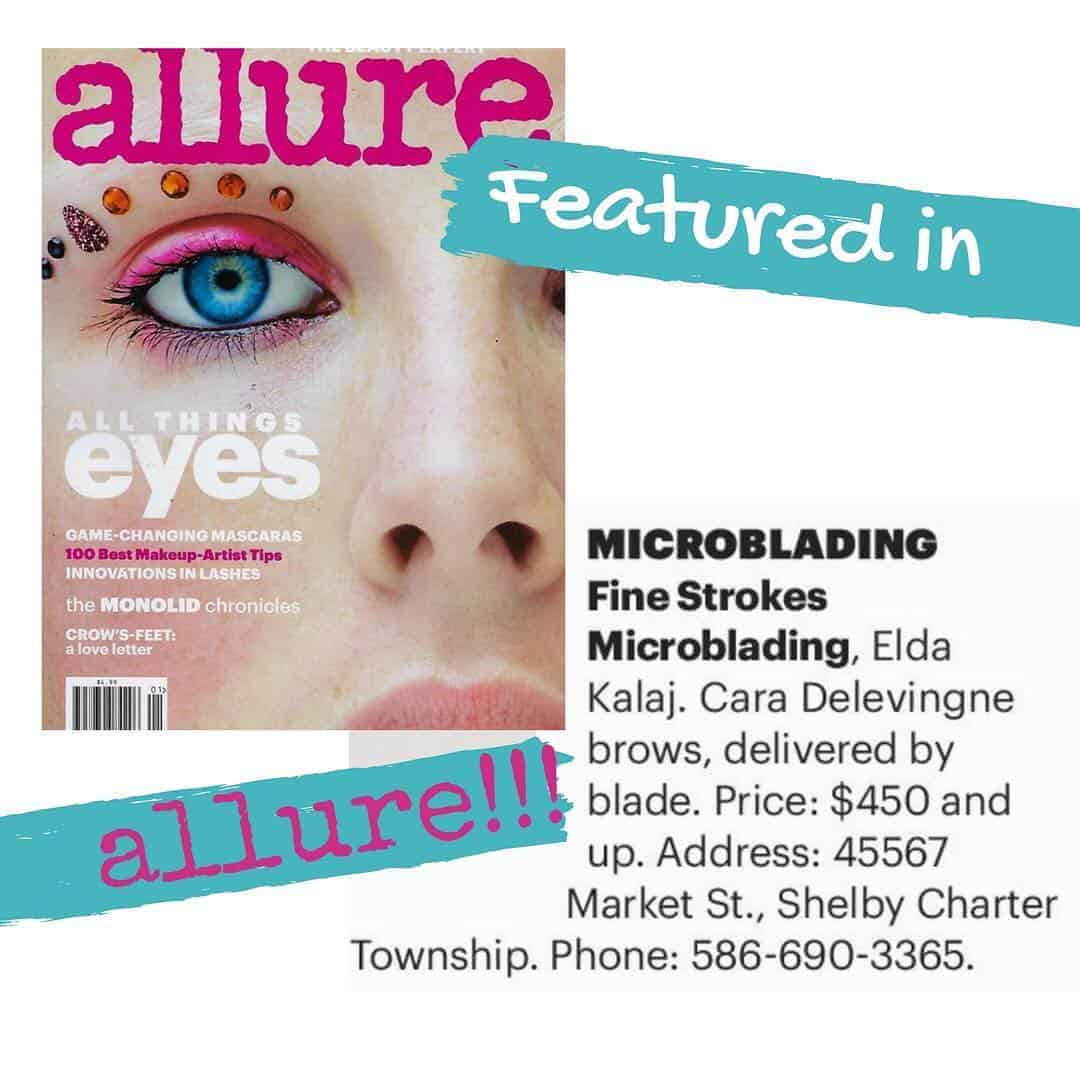 michigan permanent makeup featured in allure magazine