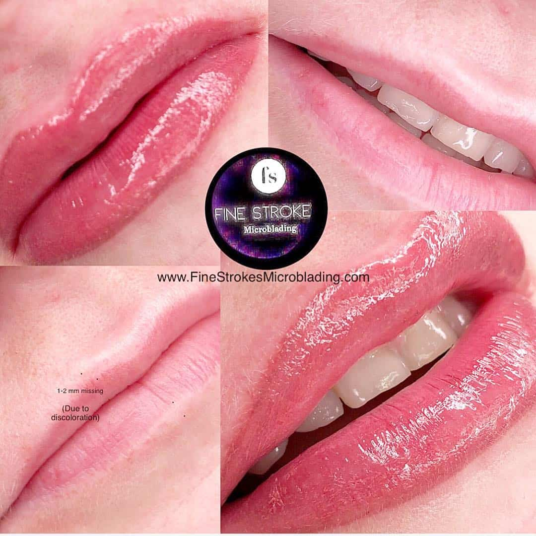 Lip Tattoo - Permanent Makeup Michigan - Fine Strokes Microblading